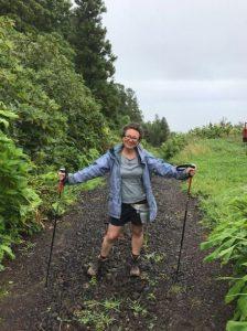 Wetter beim Wandern mit Regenjacke